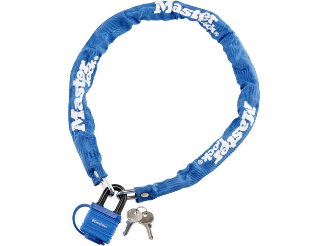 Masterlock 8390 Chain Lock 6x900mm, blue